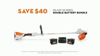 STIHL TV Spot, 'Real STIHL: AK Series Double Battery Bundle' Song by Sacha James Collisson - Thumbnail 6