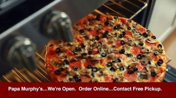 Papa Murphy's Pizza $12 Tuesday TV Spot, 'Seriously: Contact-Free Pickup' - Thumbnail 5