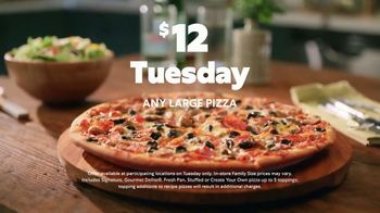 Papa Murphy's Pizza $12 Tuesday TV Spot, 'Seriously: Contact-Free Pickup' - Thumbnail 8