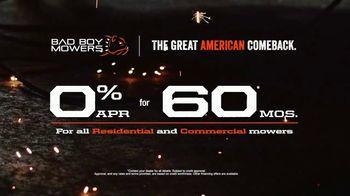Bad Boy Mowers TV Spot, '60 Month Financing' - Thumbnail 6