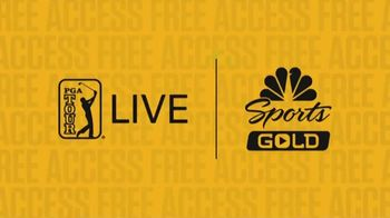 NBC Sports Gold TV Spot, 'PGA Tour Live: Get Free Access' - Thumbnail 1