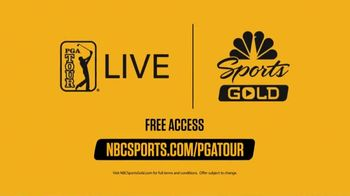 NBC Sports Gold TV Spot, 'PGA Tour Live: Get Free Access' - Thumbnail 9