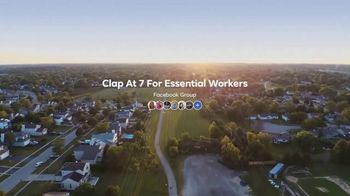 Facebook Groups TV Spot, 'Clap at 7 for Essential Workers' - Thumbnail 3