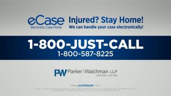 Parker Waichman TV Spot, 'Stay At Home: Electronic Consultations' - Thumbnail 10