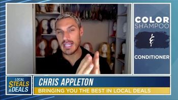 Local Steals & Deals TV Spot, 'Color Wow: Roots Need Help' Featuring Lisa Robertson, Chris Appleton - Thumbnail 8