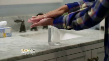 Handvana Hydroclean Hand Sanitizer TV Spot, 'Trusted'