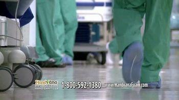 Handvana Hydroclean Hand Sanitizer TV Spot, 'Trusted' - Thumbnail 5