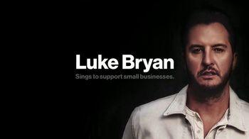 Verizon TV Spot, 'Pay It Forward LIVE: Luke Bryan Sings for Small Business' Song by Luke Bryan - Thumbnail 8