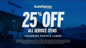 AutoNation TV Spot, 'All Service Items: 25 Percent Off' - Thumbnail 4