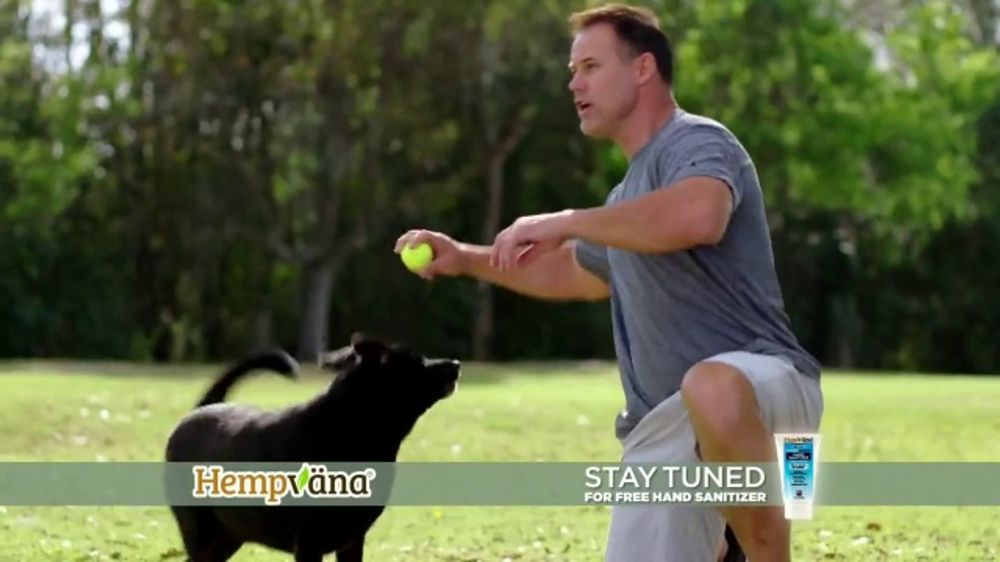 Hempvana Pain Relief Cream TV Commercial, 'After 12 Years: Hand Sanitizer' Featuring Mike Alstott