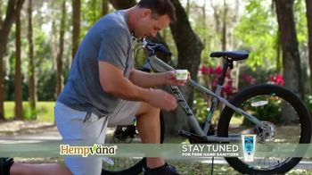Hempvana Pain Relief Cream TV Spot, 'After 12 Years: Hand Sanitizer' Featuring Mike Alstott - Thumbnail 5