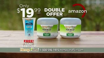 Hempvana Pain Relief Cream TV Spot, 'After 12 Years: Hand Sanitizer' Featuring Mike Alstott - Thumbnail 8