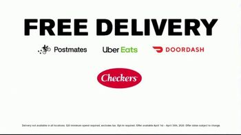Checkers 2 for $7 Big Bufords TV Spot, 'This is Real: Free Delivery' - Thumbnail 10