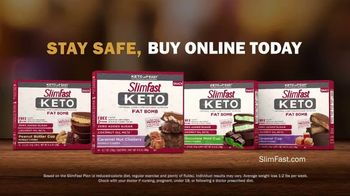 SlimFast Keto Fat Bomb TV Spot, 'Stay Safe. Buy Online'