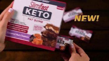 SlimFast Keto Fat Bomb TV Spot, 'Stay Safe. Buy Online' - Thumbnail 6