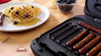 Johnsonville Sizzling Sausage Grill Plus TV Spot, 'Whole New Level' - Thumbnail 3