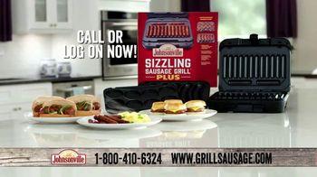 Johnsonville Sizzling Sausage Grill Plus TV Spot, 'Whole New Level' - Thumbnail 8