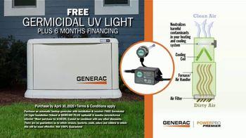 Generac Standby Generator TV Spot, 'Be Prepared: Free UV Light' - Thumbnail 4