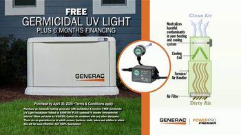 Generac Standby Generator TV Spot, 'Be Prepared: Free UV Light' - Thumbnail 5
