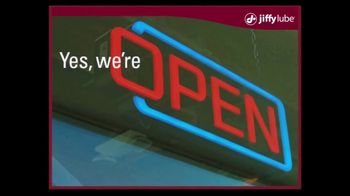 Jiffy Lube TV Spot, 'Yes, We're Open' - Thumbnail 1