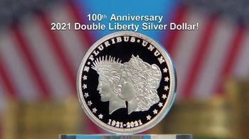 National Collector's Mint 2021 Double Liberty Silver Dollar TV Spot, '100 Years' - 178 commercial airings