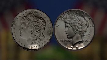 National Collector's Mint 2021 Double Liberty Silver Dollar TV Spot, '100 Years' - Thumbnail 3