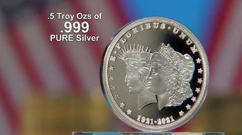 National Collector's Mint 2021 Double Liberty Silver Dollar TV Spot, '100 Years' - Thumbnail 5