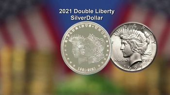 National Collector's Mint 2021 Double Liberty Silver Dollar TV Spot, '100 Years' - Thumbnail 6