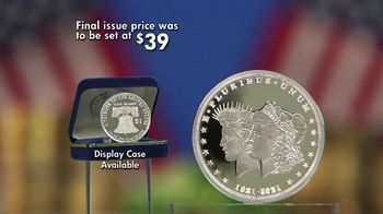 National Collector's Mint 2021 Double Liberty Silver Dollar TV Spot, '100 Years' - Thumbnail 7