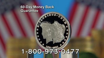National Collector's Mint 2021 Double Liberty Silver Dollar TV Spot, '100 Years' - Thumbnail 8