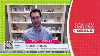 Gangas & Deals TV Spot, 'ChargeHub' con Aleyda Ortiz  [Spanish]