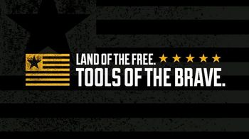 Dewalt TV Spot, 'Land of the Free, Tools of the Brave' - Thumbnail 6
