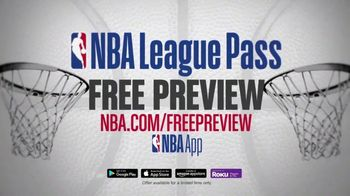 NBA League Pass TV Spot, 'Greatest Games Ever: Free Preview' - Thumbnail 6