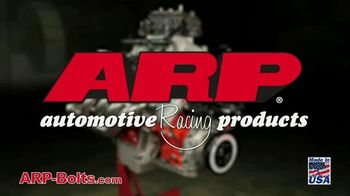 ARP Bolts TV Spot, 'Locking In Power and Performance'