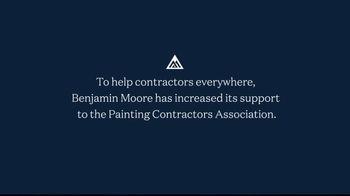 Benjamin Moore TV Spot, 'Keep Hard Workers Working: See the Love' - Thumbnail 10