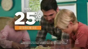 Ashley HomeStore TV Spot, 'Furniture Needs: Save 25 Percent & 6 Years No Interest' - Thumbnail 4