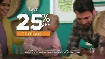 Ashley HomeStore TV Spot, 'Furniture Needs: Save 25 Percent & 6 Years No Interest' - Thumbnail 5