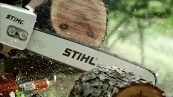 STIHL TV Spot, 'Real STIHL: Double Battery Bundle & Blower' Song by Sacha Collisson - Thumbnail 4
