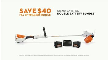 STIHL TV Spot, 'Real STIHL: Double Battery Bundle & Blower' Song by Sacha Collisson - Thumbnail 5