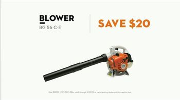 STIHL TV Spot, 'Real STIHL: Double Battery Bundle & Blower' Song by Sacha Collisson - Thumbnail 6