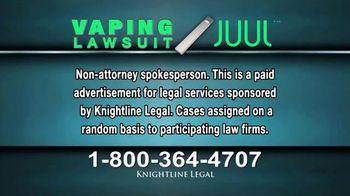 Knightline Legal TV Spot, 'Vaping Lawsuit' - Thumbnail 1