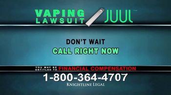Knightline Legal TV Spot, 'Vaping Lawsuit' - Thumbnail 10