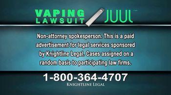 Knightline Legal TV Spot, 'Vaping Lawsuit' - Thumbnail 2