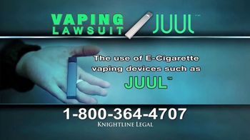 Knightline Legal TV Spot, 'Vaping Lawsuit' - Thumbnail 3