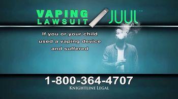 Knightline Legal TV Spot, 'Vaping Lawsuit' - Thumbnail 4