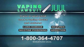 Knightline Legal TV Spot, 'Vaping Lawsuit' - Thumbnail 5