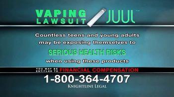 Knightline Legal TV Spot, 'Vaping Lawsuit' - Thumbnail 7