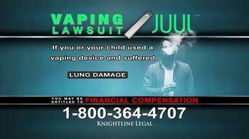 Knightline Legal TV Spot, 'Vaping Lawsuit' - Thumbnail 8