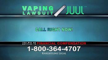 Knightline Legal TV Spot, 'Vaping Lawsuit' - Thumbnail 9