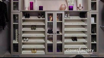 Closet Factory TV Spot, 'Make Your Closets Pretty' - Thumbnail 1